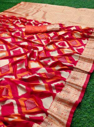 Meera 46 Wedding Wear Zari Banarasi Silk Saree Collection