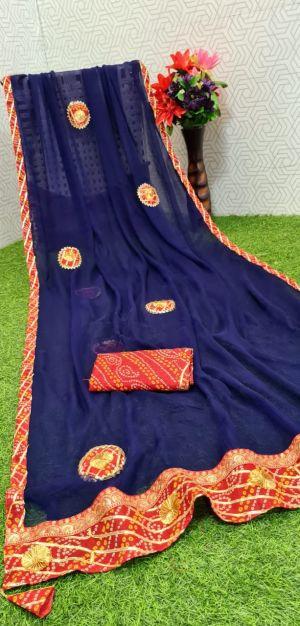 Mahek 50 Party Wear Designer Dhola Silk Saree Collection