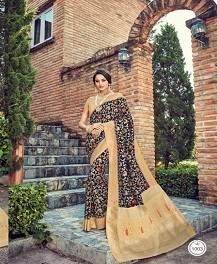 Takshaya Aaloki Designer Semi Dola Silk Saree Collection