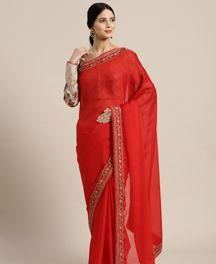 Premier 2 Festive Wear Silk Blend Saree