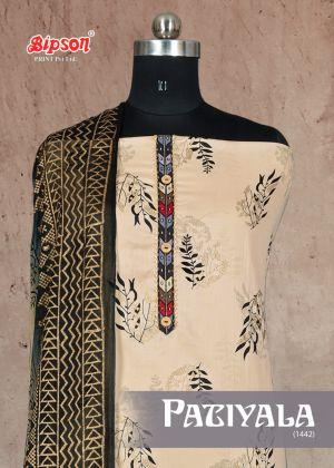 Bipson Patiyala 1442 Premium Cotton Dress Material Collection