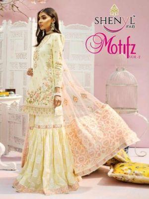 Shenyl Motifz 2 Embroidery Pakistani Salwar Kameez Collection