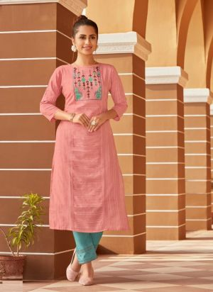 Syasii Matic Fancy Wear Embroidery Kurti Collection
