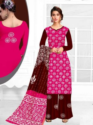 Sc Rayon Wax Batik Cotton Dress Material Collection