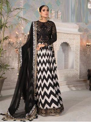 Ziaaz Designs Black Beauty 3 Designer Salwar Kameez