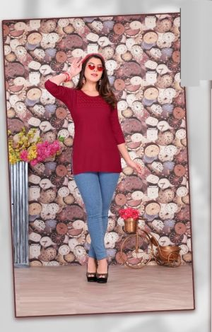 Katty Fancy Wear Ladies Top Collection