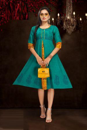Kinti Color Fountain 2 Regular Wear Printed Kurti Collection