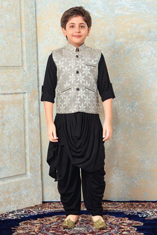Boys Indian Kurta Pajama 3 Party Wear Kurta Pajama