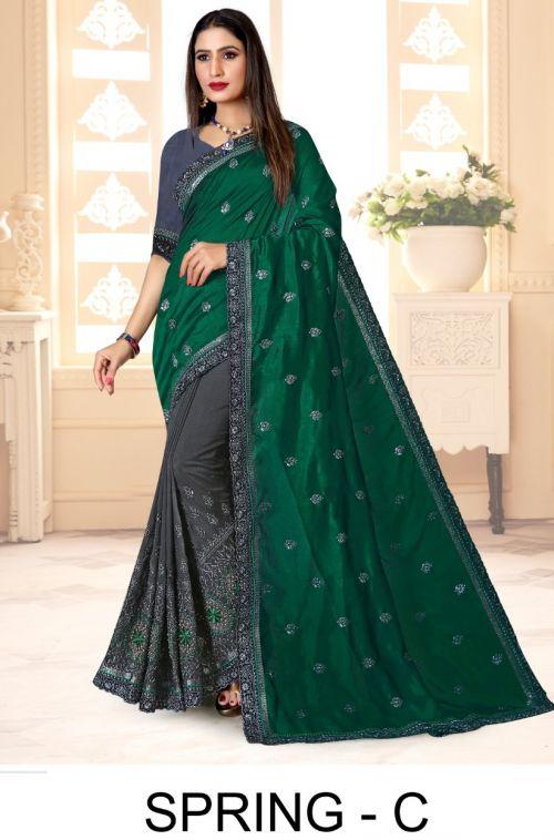 Ronisha Spring Festive Wear Designer Saree Collection