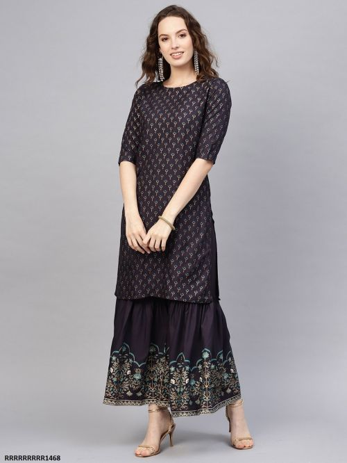 Indo Era 13 Ethnic Wear Exclusive Kurti With Bottom Collection