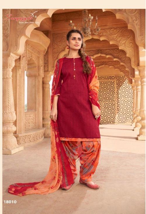 Suryajyoti Paneree Paiyala 18 Printed Cotton Dress Materials Collection