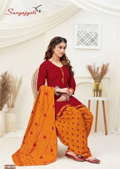 Suryajyoti Patiala Kudi 19  Printed Cotton Dress Materials Collection