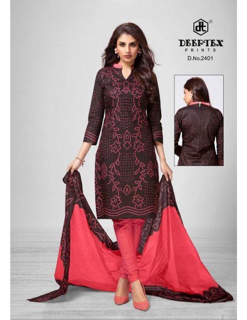 Deeptex Classic Chunaris 24 Printed Cotton Dress Material