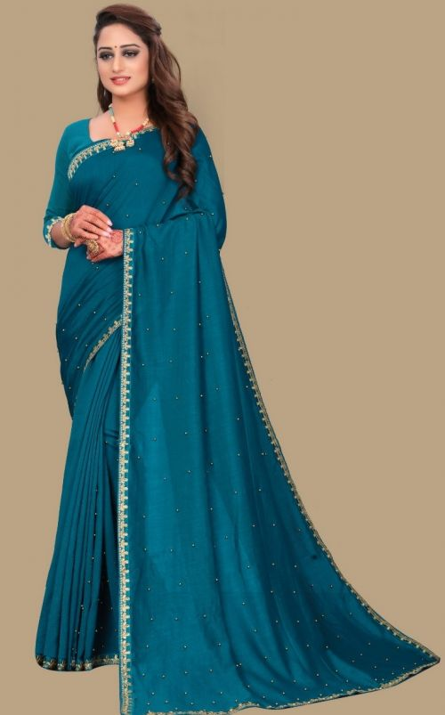 Meera 12 Casual Wear Georgette Moti Worked Saree Collection