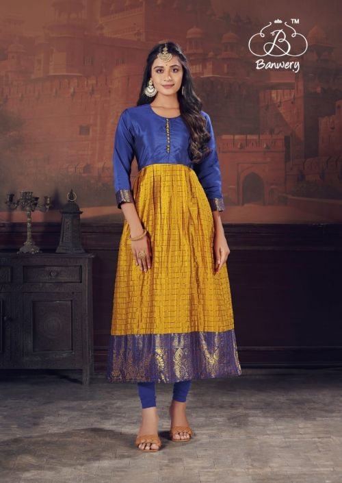 Banwery Pearl Festive Wear Designer Gown Collection