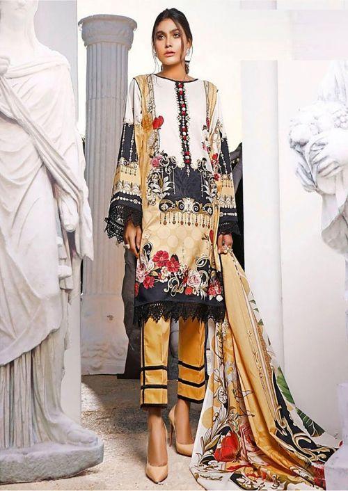 Erum Khan 1 Premium Karachi Cotton Dress Material Collection
