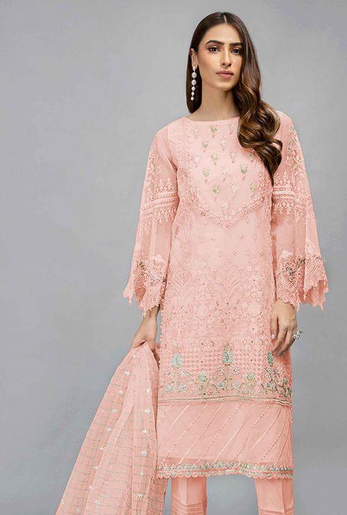 Pakistani 7107 Designer Slawar Kameez Collection