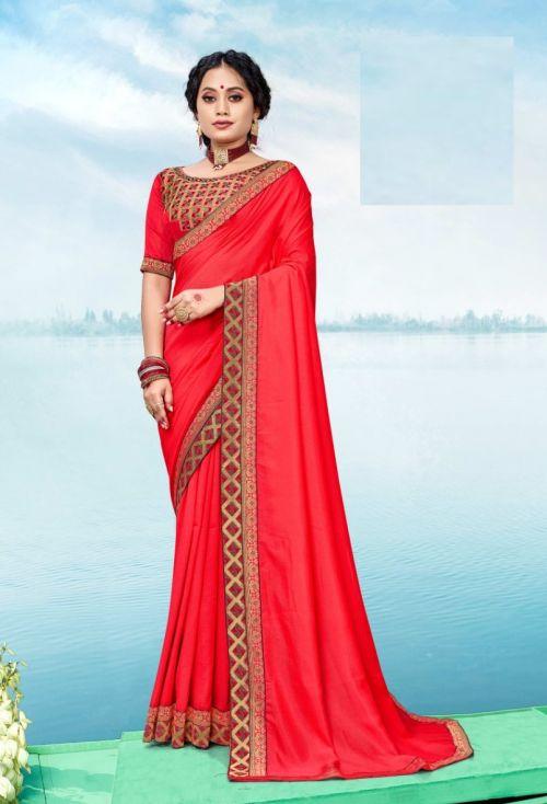 Ronisha Aashna Stylish Embroidery Work Saree Collection