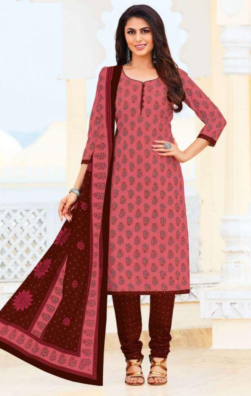 Ganpati Jeeya 4 Printed Cotton Stylish Dress Material Collection