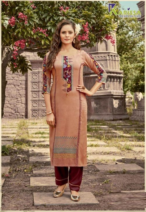 Karissa Rich Girl 6 Ethnic Wear Long Kurti Collection