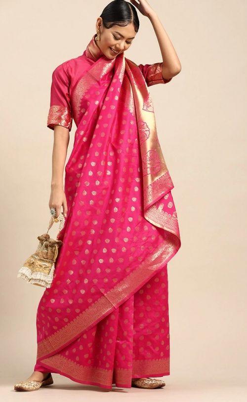 Meera 14 Party Wear Banarasi Silk Sarees Collection
