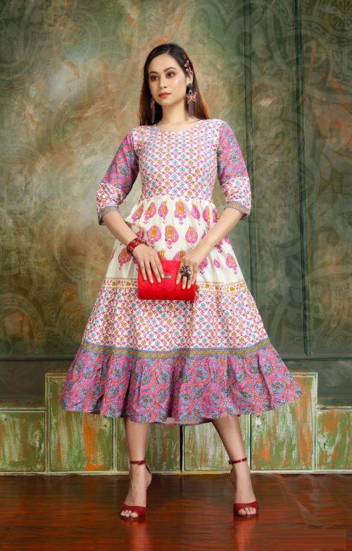 Precious Fancy Wear Anarkali Long Kurti Collection