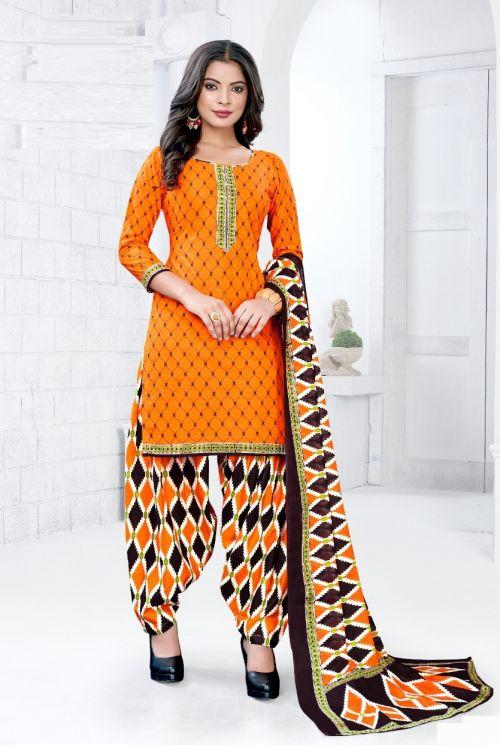 Deepkala Royal Patiyala 6 Cotton Dress Material Collection