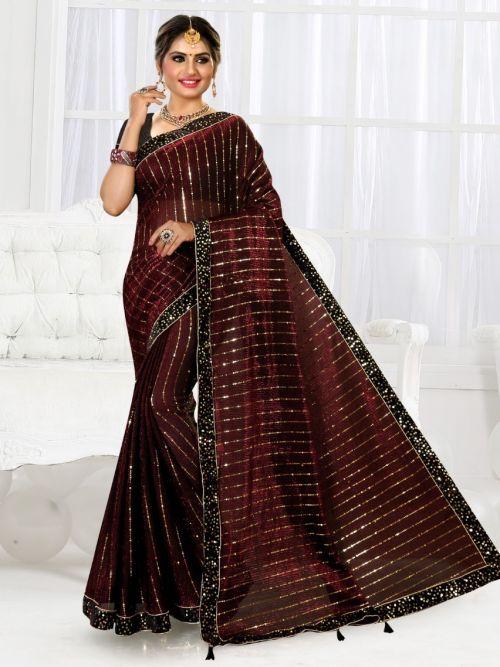 Ronisha Berlin Bollywood Style Designer Saree Collection