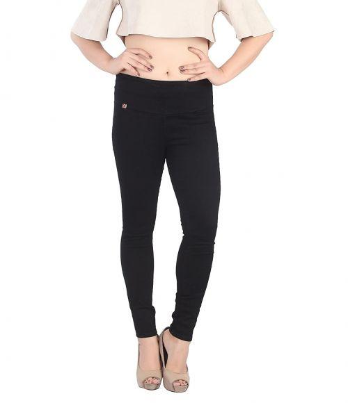 Swara Broad Belt Pant Beautiful Denim Collection