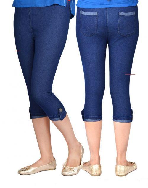 Swara Denim Kapri 1 Pant Collection