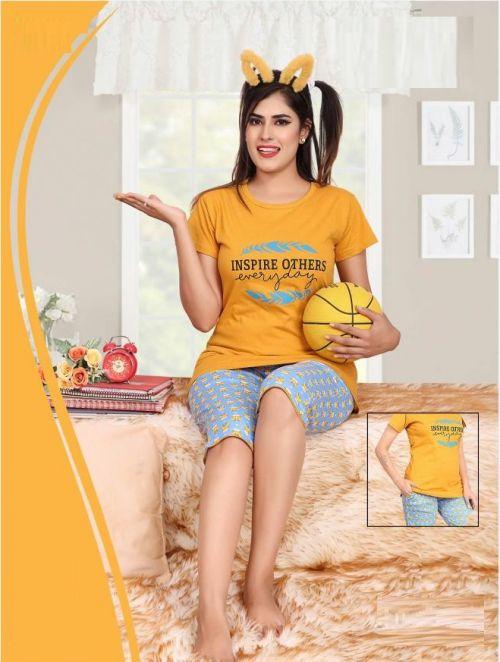 Saheli Barbie Premium Hosiyer Cotton Night Wear Collection