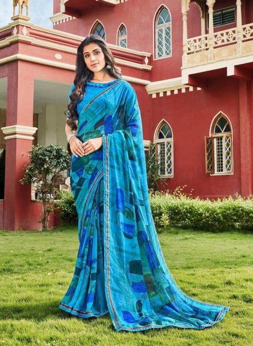 Laxminam Radha Rani Casual Wear Georgette Saree Collection
