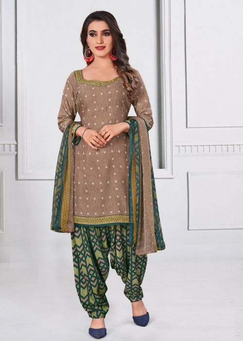Amit Rupali 6 Micro Synthethic Printed Cotton Collection
