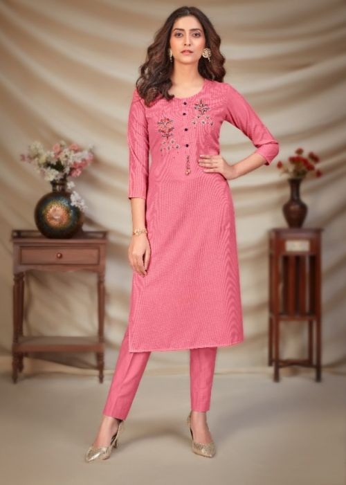 Tunic House Norja 3 Fancy Wear Embroidery Kurti Collection