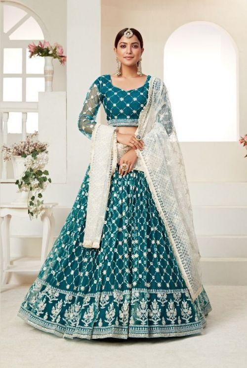 Aawiya Amrita 1 Wedding Wear Lehenga Collection