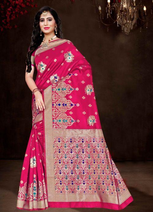 Ronisha Energy Ethnic Wear Silk Saree Collection