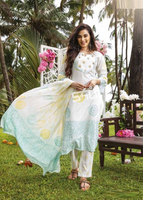 S4u Womaniya 18 Fancy Wear Cotton Ready Made Collection