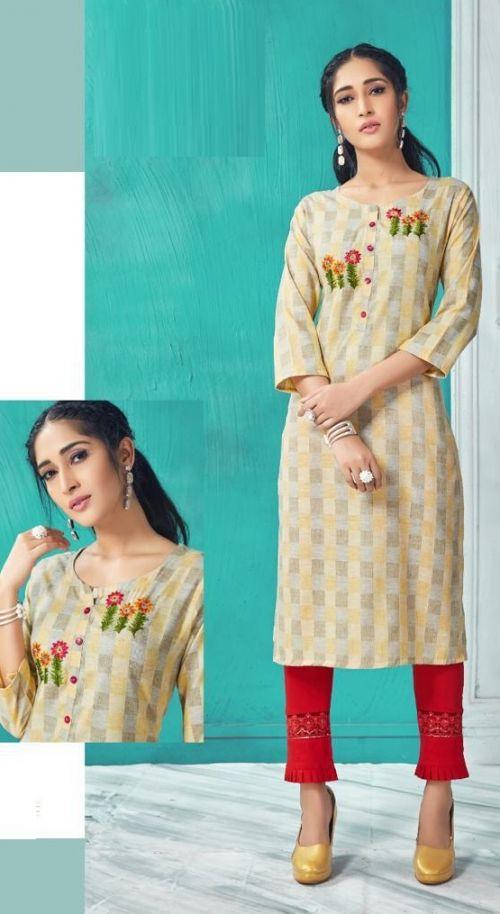 Rang Tarang Swati Fancy Wear Cotton Designer Kurti Collection