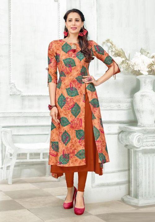 Tunic House Rukshar 2 Viscose Designer Kurti Collection