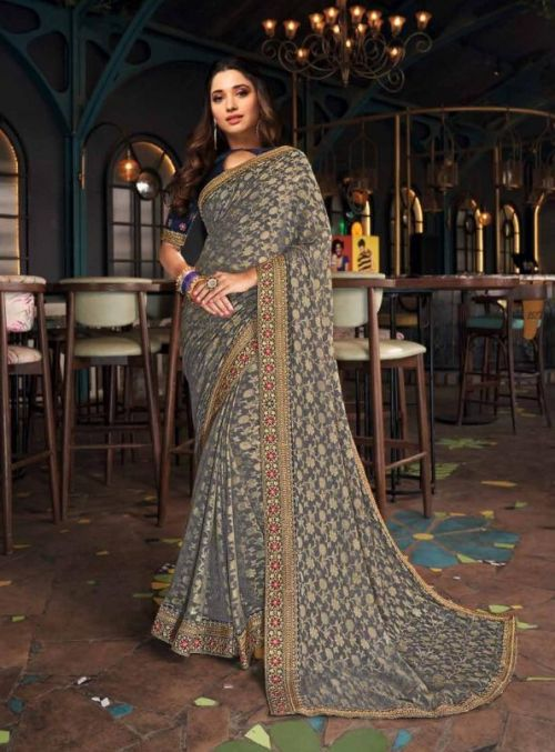 Joh Rivaaj 5701 Wedding Wear Embroidery Saree