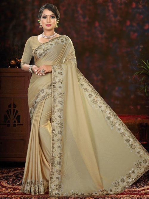 Ronisha Benz Exclusive Wear Imported Lycra Saree Collection