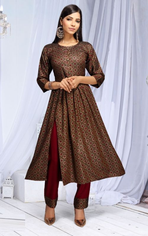 Beauty Queen Geet Ethnic Wear Kurti With Pant Collection