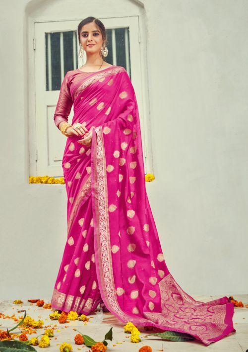 Sangam Korvai Cotton Handloom Festive Wear Sarees Collection