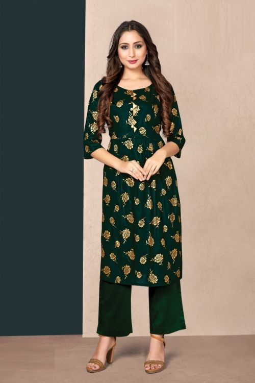 Tunic House New Pinch Casual Wear Printed Kurti Collection