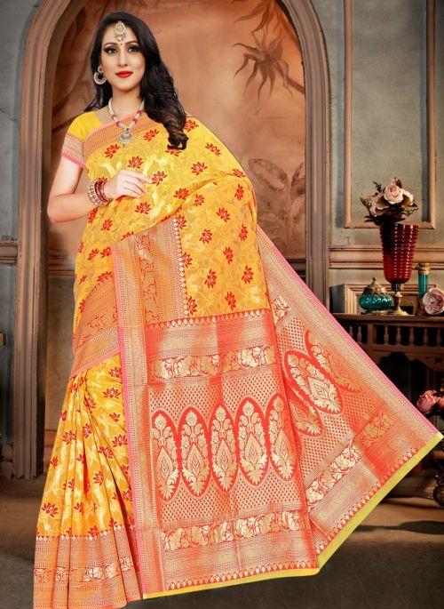 Ronisha Windy Casual Wear Cotton Silk Saree Collection