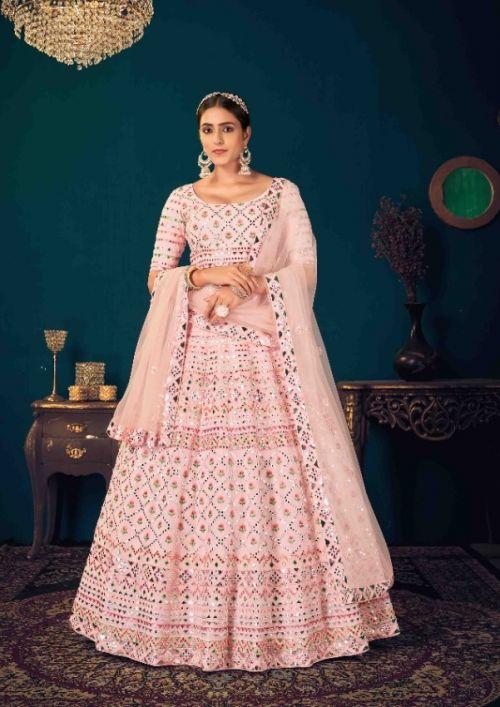 Kf Guldasta 9 Wedding Wear Georgette Lehenga Collection