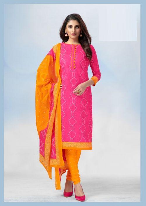 Deeptex Classic Chunaris 25 Printed Cotton Dress Material