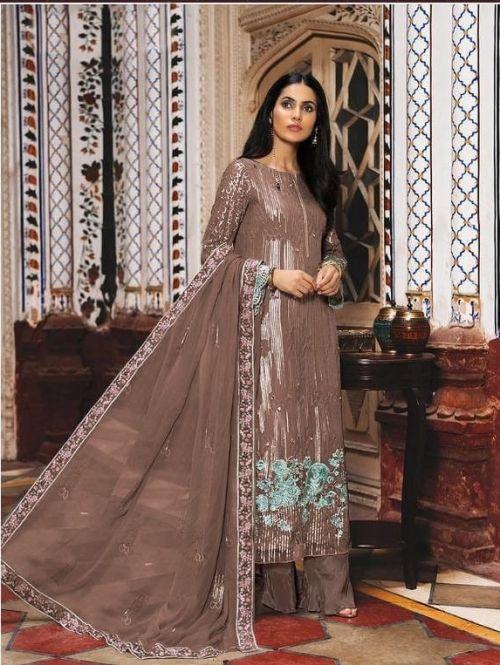 S 8102 Georgette Wear Designer Salwar Kameez