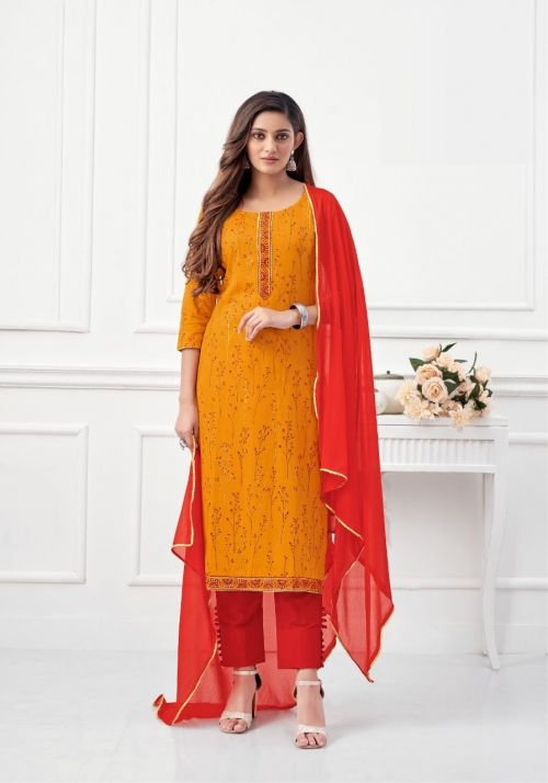 Suryajyoti Keesha 1 Designer Dress Material Collection