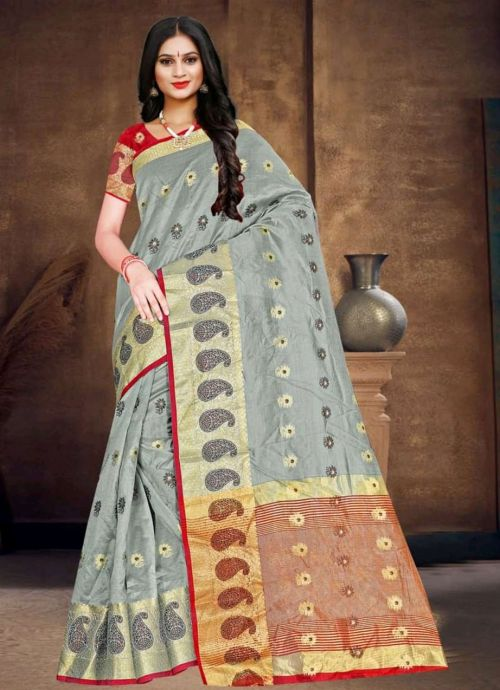 Ronisha Roller Casual Wear Soft Cotton Saree Collection